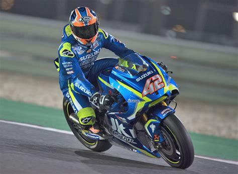 motogp rookie alex rins doubtful  argentina grand prix
