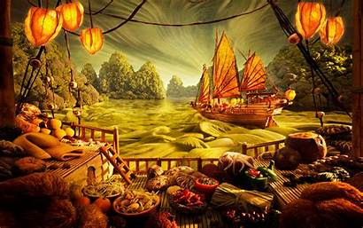 Japanese Cuisine Seafood Wallpapers Desktop Asian Chinese