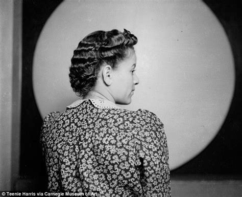 Hairstyles Worn By African American Women In The 40s, 50s