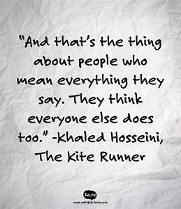 What are some i... Kite Runner Dream Quotes