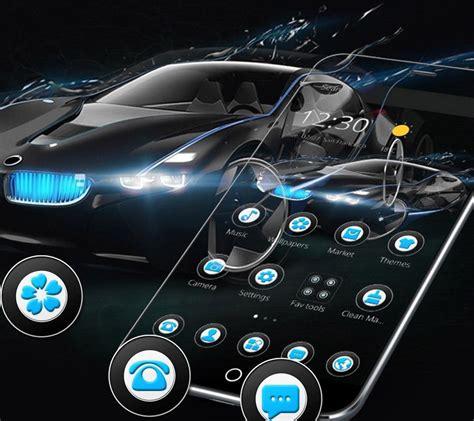 Black Speedy Car Theme For Bmw Für Android
