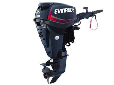 2018 Evinrude E-tec 30 Hp E30drg Outboard Motor