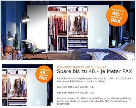 Pax Aktion Ikea by Ikea Pax Pro Meter Aktion Ab 31 1 2015