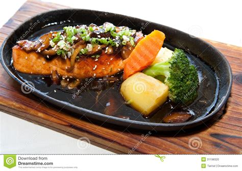 japanese fusion cuisine japanese fusion food stock photo image 31198320