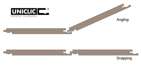 uniclic  ultimate floor locking method onflooring
