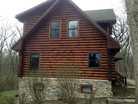 log home staining problems edmunds and company