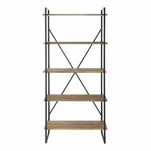 Etagere 80 Cm : etagere metallique largeur 80 cm ~ Teatrodelosmanantiales.com Idées de Décoration