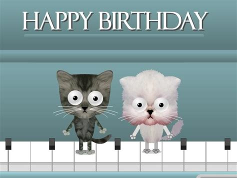 Funny Cat Happy Birthday Cards