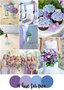how to wedding colors blue and purple colour scheme wedding ideas by colour chwv