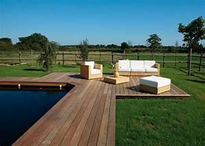 Piscine Sans Margelle : 1000 id es sur le th me margelle piscine bois sur ~ Premium-room.com Idées de Décoration