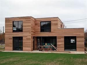 Maison Bois Contemporaine : interieur maison en bois moderne ~ Preciouscoupons.com Idées de Décoration