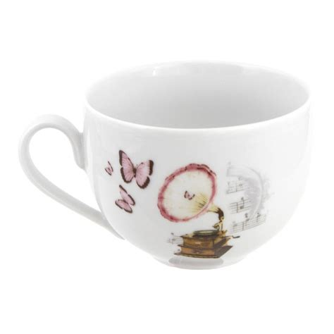 tasse assiette tasse petit d 233 jeuner 450 ml symphonie des papillons en porcelaine