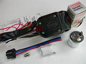 Black 7 Wire Turn Signal Directional Switch Golfcart Quad