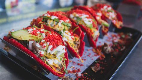 This Taco Joint Makes Their Tortillas Using Flamin Hot