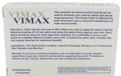 vimax patch review does it really work care your health today