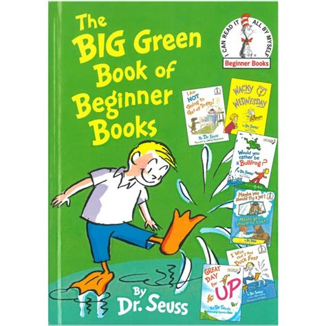 Beginner Books  The Big Green Book Of Beginner Books
