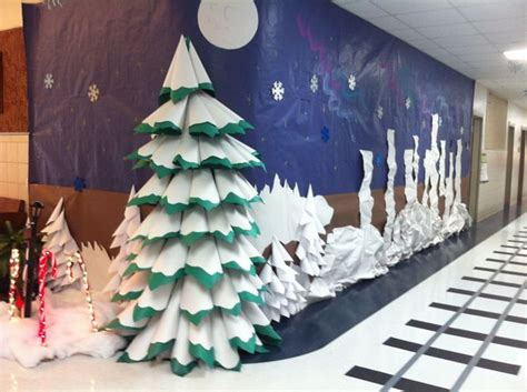 paper christmas tree bulletin board 1000 images about bulletin boards preschool on preschool curriculum