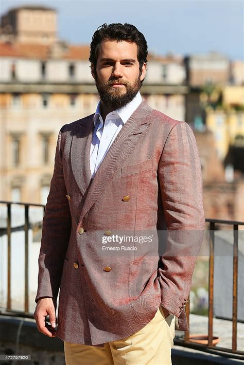 Henry Cavill attends the 'The Man From U.N.C.L.E ...