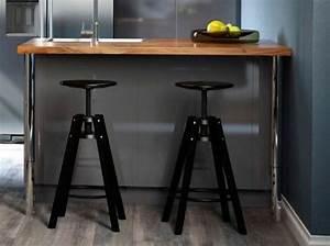 Tabouret Metal Ikea : shopping quel tabouret de bar pour ma cuisine elle ~ Teatrodelosmanantiales.com Idées de Décoration