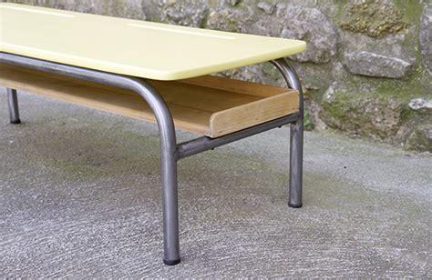 bureau ecolier vintage table basse sm bureau écolier 05