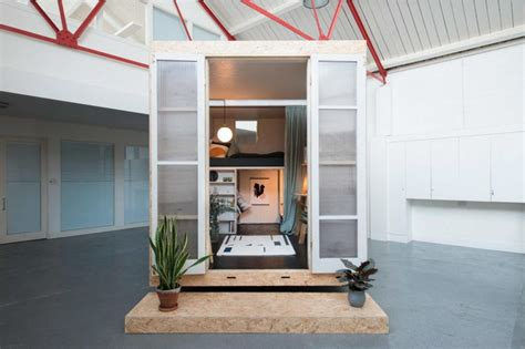 Compact House Made From Affordable Materials by Temporary Housing Sheds Affordable Accommodation