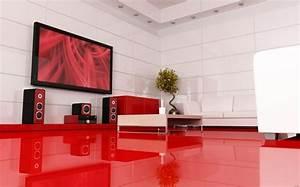 La Maison Du Blanc : chambre rouge et blanc id es int ressantes pour votre ~ Zukunftsfamilie.com Idées de Décoration