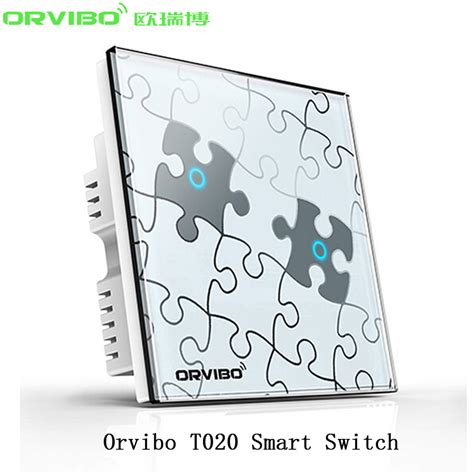 smart home light control orvibo wifi smart home automation light switch t020 art