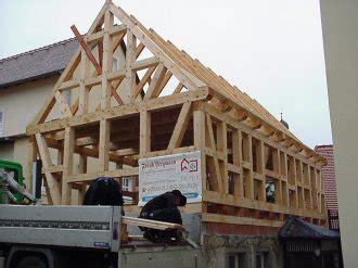 Fachwerkhaus Altbewaehrte Konstruktion by Dachstuhlbau