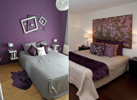 peinture murale chambre adulte chambre couleur vert et violet chaios com