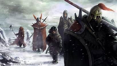 Dungeons Dragons Wallpapers Dnd Pathfinder Background Warrior