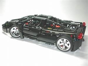 Lego Technic Ferrari : lego technic racers ferrari enzo 8653 custom black ebay ~ Maxctalentgroup.com Avis de Voitures