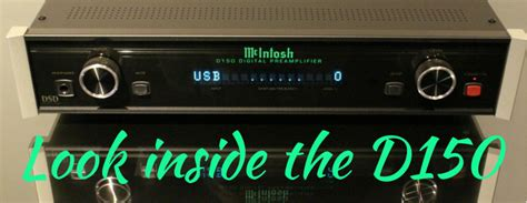Take a Look Inside the New McIntosh D150 Digital Preamplifier