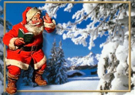 Gifs animados de imágenes de Papá Noel ~ Gifmania