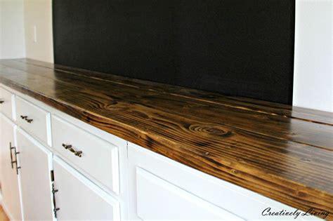 diy wood countertops hometalk diy wood counter for 50