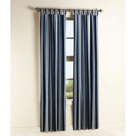 navy blue curtains walmart mainstays chino bedroom curtain panel navy stripes