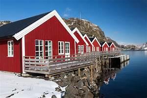 Häuser In Norwegen : h user im hafen lofoten norwegen stockbild bild von unterkunft nord 58823005 ~ Buech-reservation.com Haus und Dekorationen