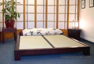 raku japanese tatami bed haiku designs
