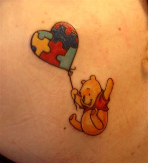 flying winnie   balloon tattoojpg
