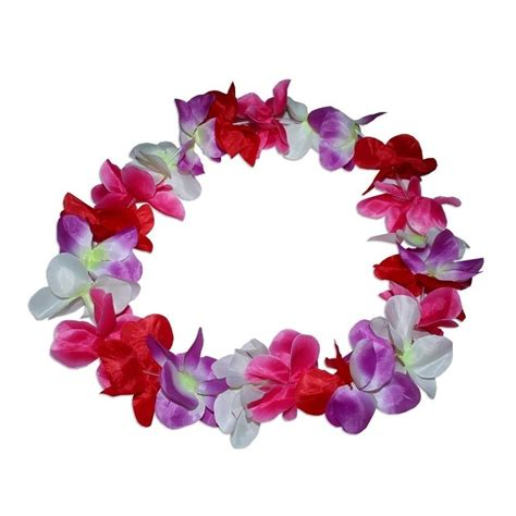 large cm party hawaiian leis lay assorted