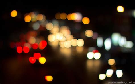 bokeh lights night city blur hd wallpapers desktop