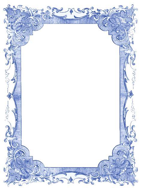 vintage blue frames  stars hanukkah  graphics fairy