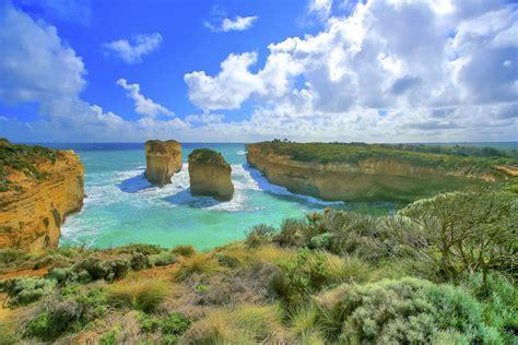 ocean, Australia, Beach, Rocks, Landscape Wallpapers HD ...