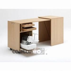 Meuble Rangement Couture : meuble n 80 de rangement surjeteuse rauschenberger coutureo ~ Farleysfitness.com Idées de Décoration