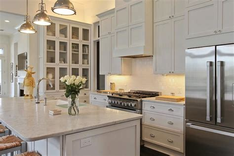 built  hutch transitional kitchen troyer builders