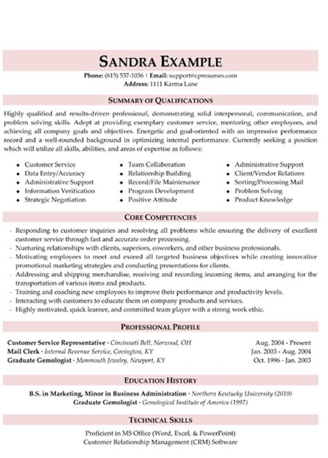best 25 customer service resume ideas on