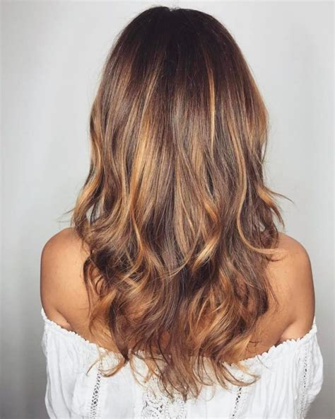 Sun In Brown Hair by Sunkissed Light Brown Hair With Waves Hair And Make Up
