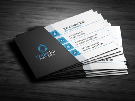 design  unique business cards   arifrahman