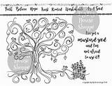 Journaling sketch template