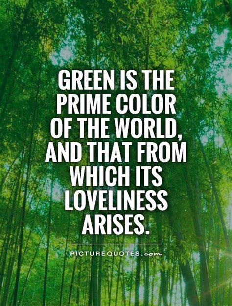 quotes   color green quotesgram