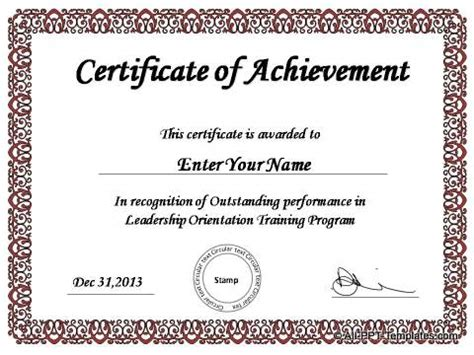 Microsoft Powerpoint Certificate Templates Costumepartyrun